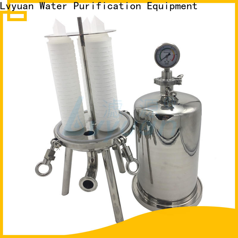 Lvyuan high end stainless steel filter housing manufacturers manufacturer for oil fuel