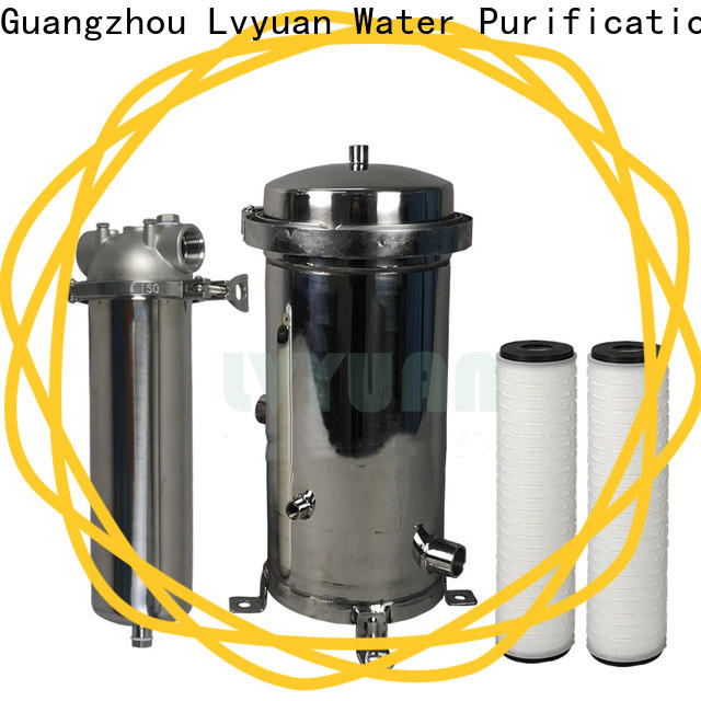 Lvyuan stainless steel water filter cartridge replacement for sea water desalination