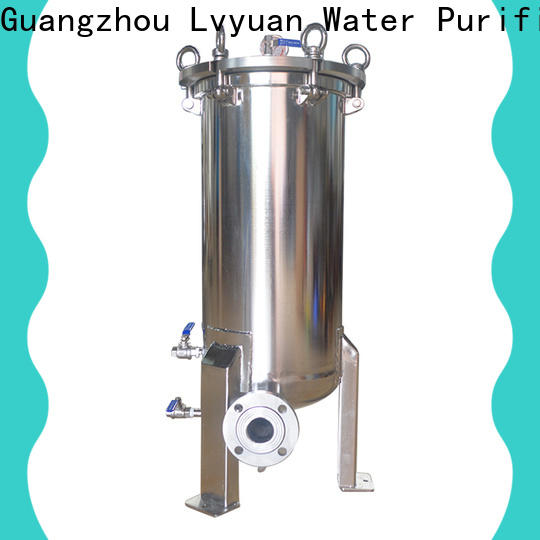 Lvyuan professional ss cartridge filter housing rod for industry