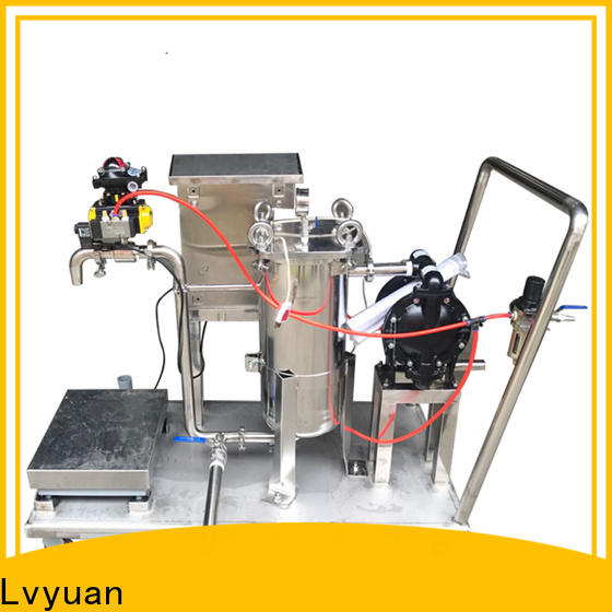 Lvyuan ss bag filter housing with core for oil fuel