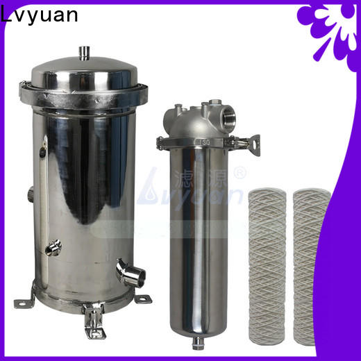Lvyuan stainless water filter housing rod for sea water treatment
