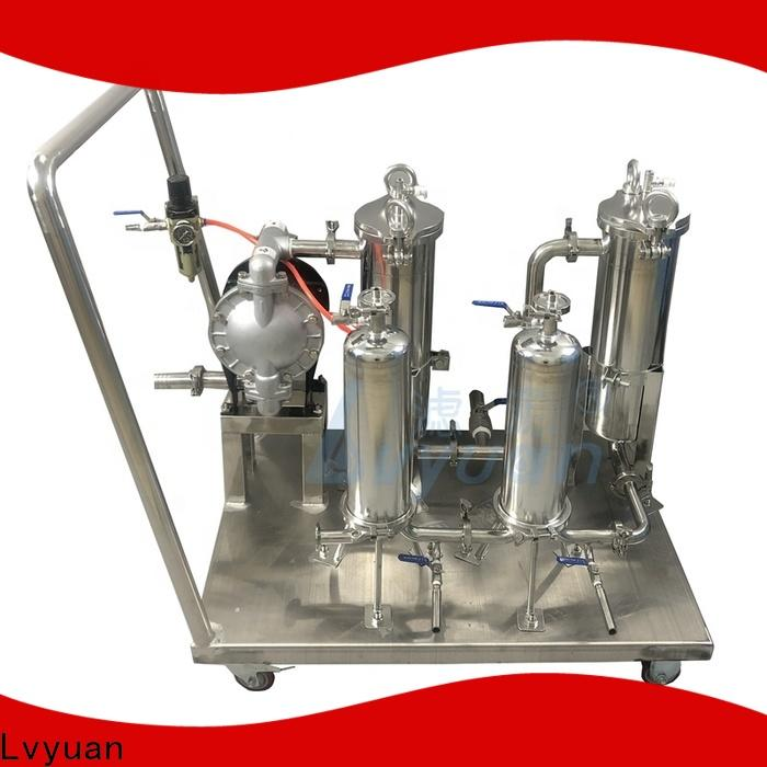 professional stainless steel filter housing with core for food and beverage