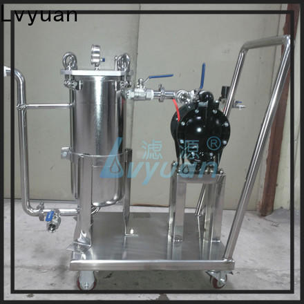 Lvyuan best stainless filter housing with core for sea water treatment
