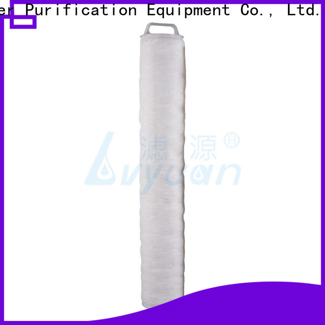 Lvyuan high flow pleated filter cartridge manufacturer for industry