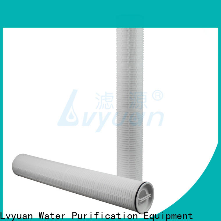 Lvyuan high flow water filter replacement cartridge replacement for sea water desalination