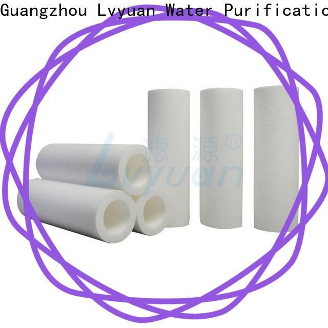 customized pp melt blown filter cartridge manufacturer for sea water desalination
