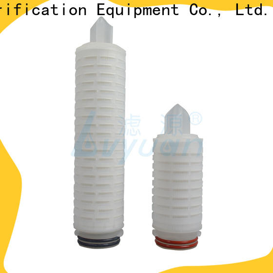 Lvyuan membrane pleated water filters replacement for food and beverage