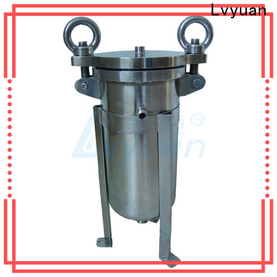 Lvyuan porous stainless filter housing rod for sea water desalination