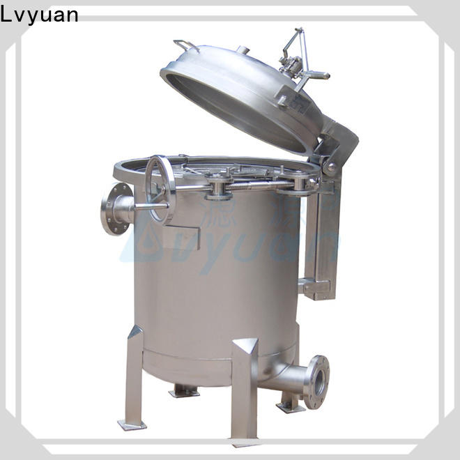 Lvyuan high end stainless water filter housing rod for food and beverage