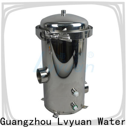 high end stainless steel water filter housing rod for industry