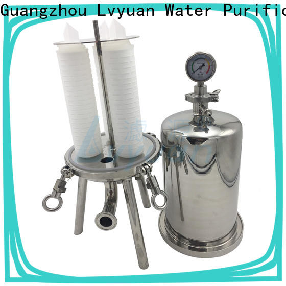 porous stainless water filter housing housing for sea water desalination