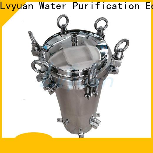 Lvyuan ss bag filter housing housing for industry
