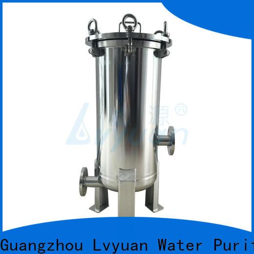 Lvyuan ss bag filter housing housing for food and beverage