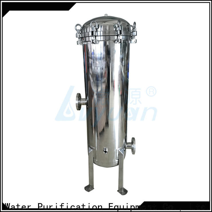 high end stainless steel water filter housing rod for sea water desalination