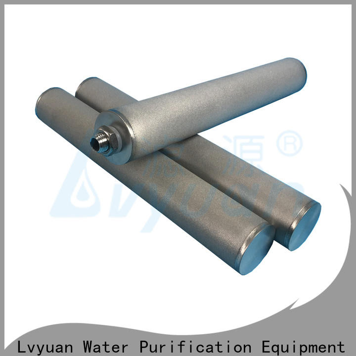 activated carbon sintered carbon water filter manufacturer for sea water desalination
