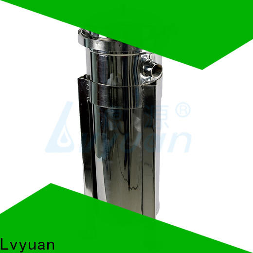 Lvyuan porous stainless water filter housing manufacturer for industry