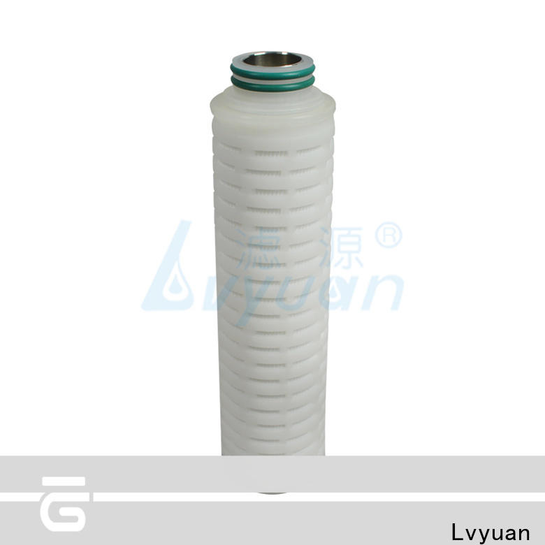 Lvyuan pleated filter cartridge suppliers replacement for industry