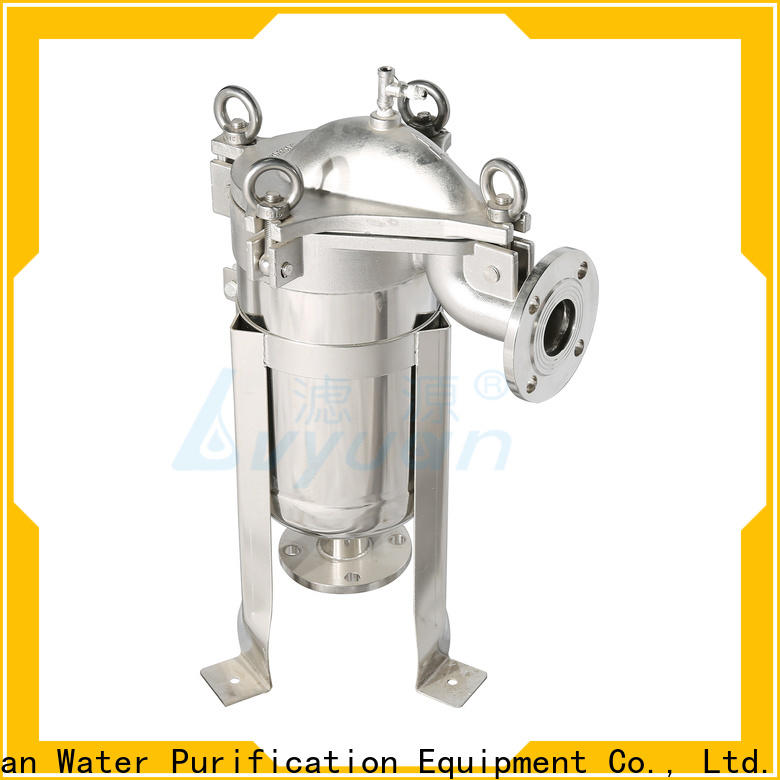 Lvyuan stainless water filter housing with core for sea water desalination