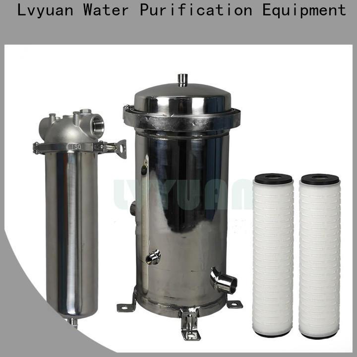 Lvyuan water filter cartridge manufacturer for sale