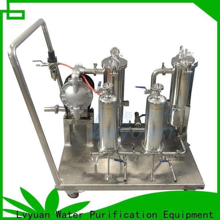 Lvyuan safe water filter cartridge supplier for sale