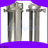 efficient stainless steel cartridge filter housing housing for food and beverage