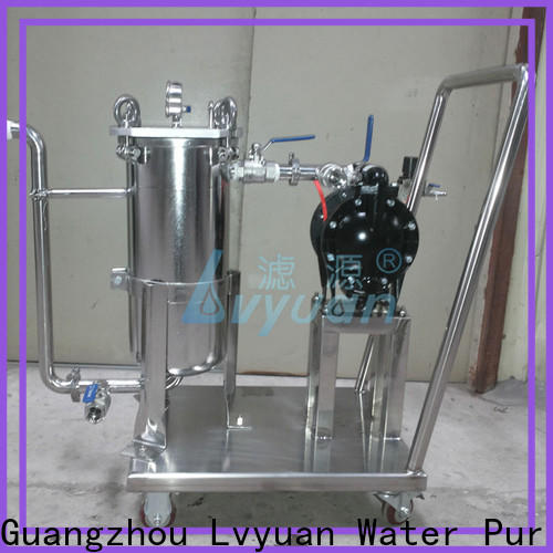 Lvyuan stainless steel filter housing manufacturers manufacturer for sea water treatment