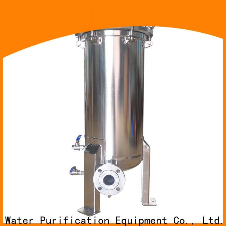 efficient stainless steel filter housing rod for food and beverage