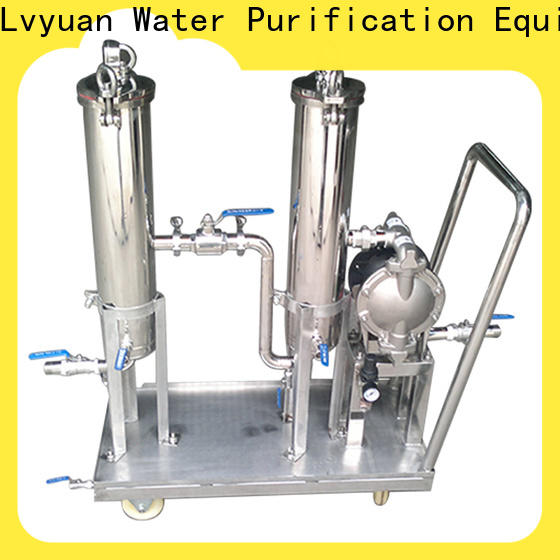 efficient stainless steel cartridge filter housing rod for industry