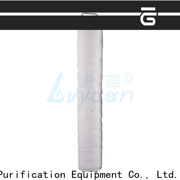 Lvyuan high flow filters manufacturer for sea water desalination