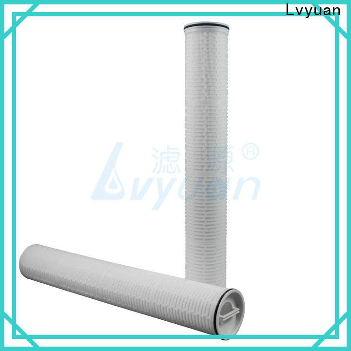 Lvyuan safe high flow filter cartridge supplier for sale