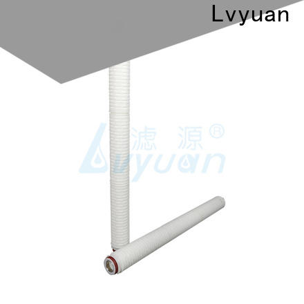 Lvyuan water pleated filter cartridge replacement for industry