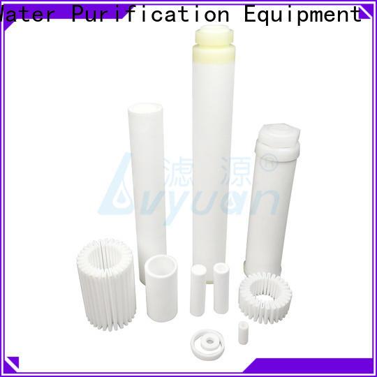 Lvyuan sintered carbon water filter supplier for industry