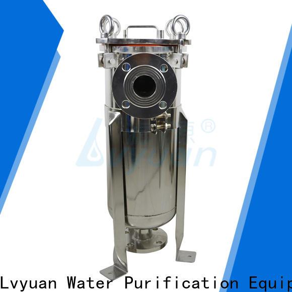 Lvyuan porous stainless steel filter housing rod for oil fuel