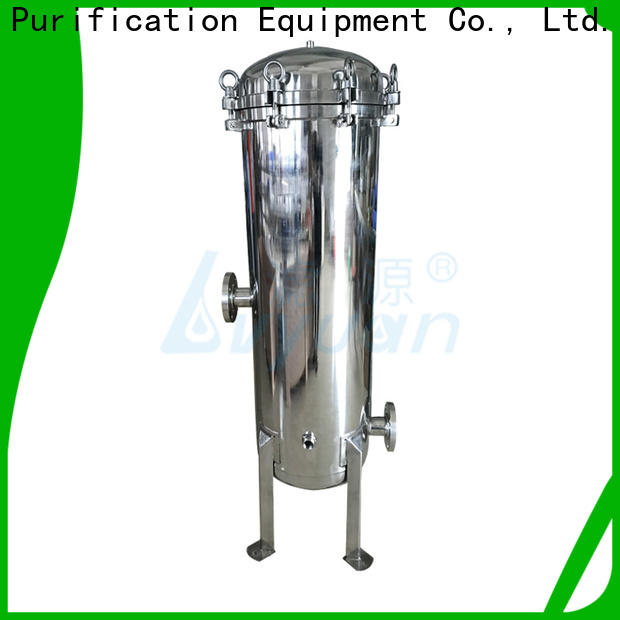 Lvyuan high end stainless steel filter housing with core for food and beverage