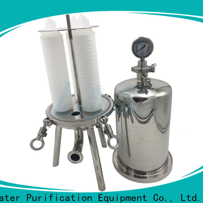 Lvyuan stainless steel filter housing with fin end cap for sea water desalination