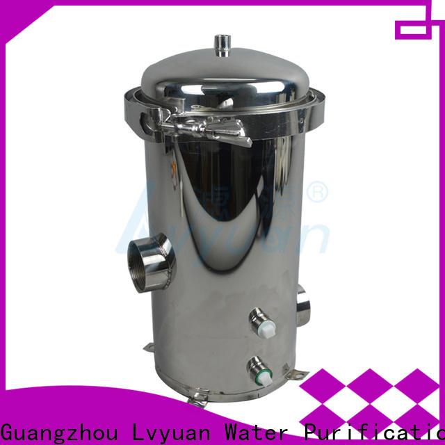Lvyuan efficient stainless steel filter housing housing for oil fuel