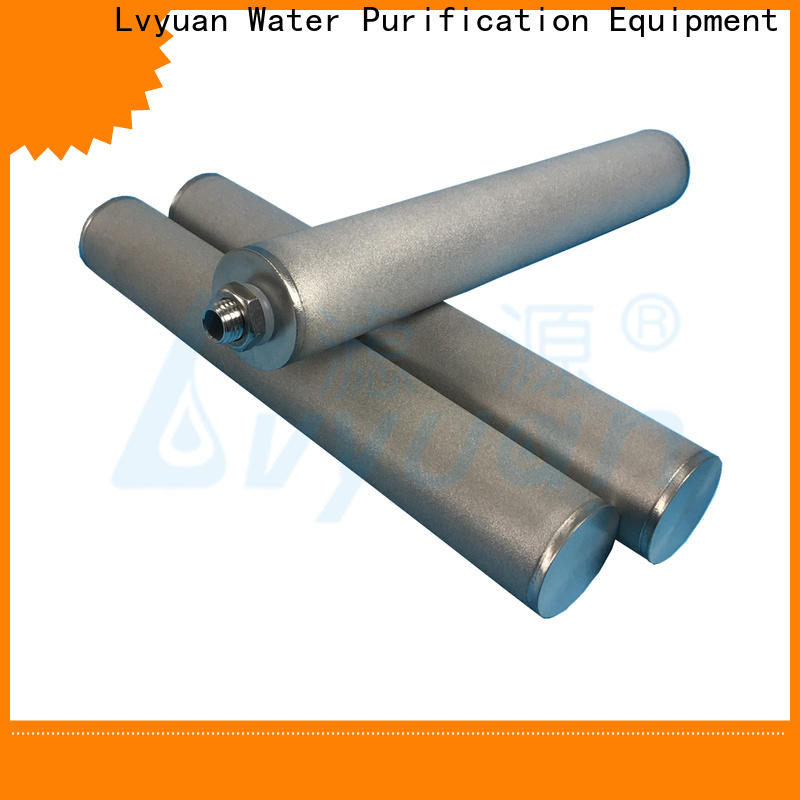 professional sintered stainless steel filter manufacturer for food and beverage