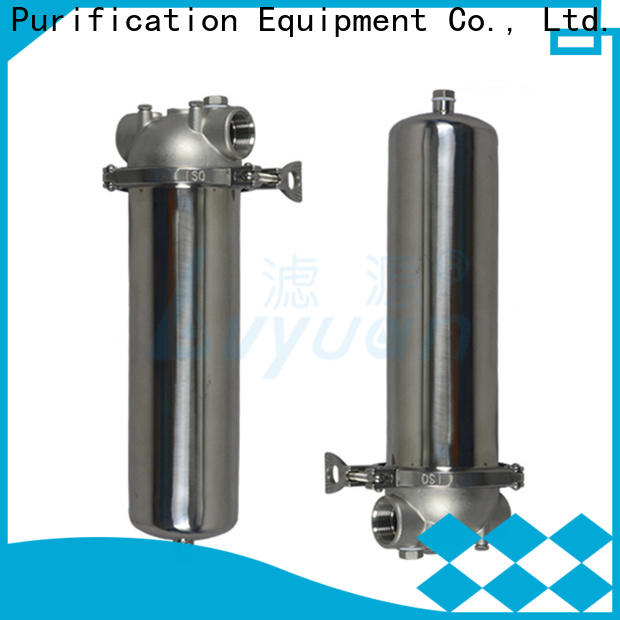 Lvyuan ss filter housing manufacturers with core for food and beverage