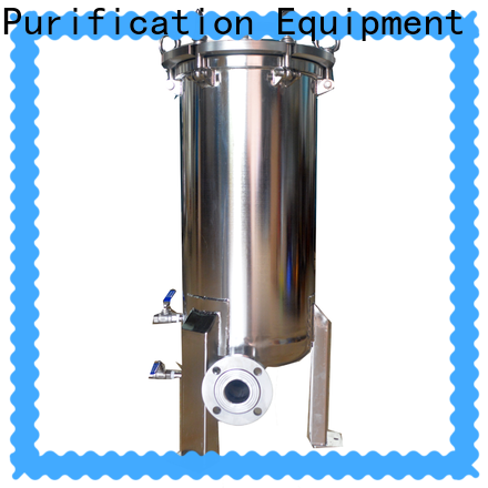 Lvyuan stainless steel cartridge filter housing with core for sea water treatment