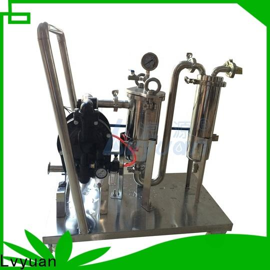 Lvyuan high end stainless water filter housing housing for industry