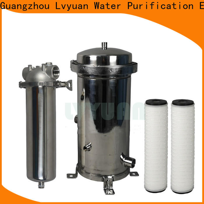 Lvyuan filter water cartridge manufacturer for sea water desalination