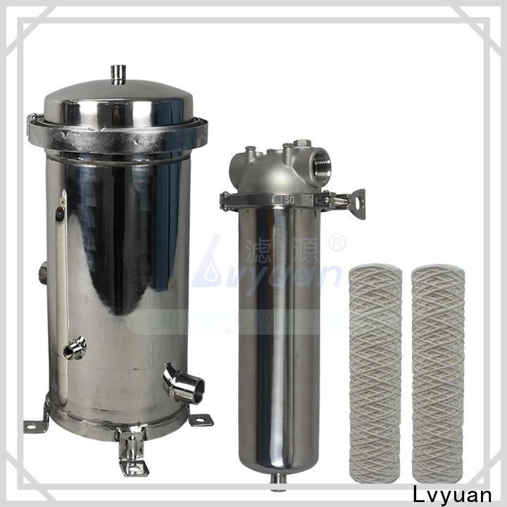 Lvyuan water filter cartridge supplier for sea water desalination
