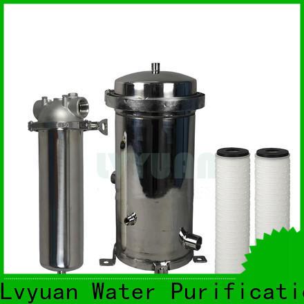 Lvyuan ss bag filter housing housing for sea water treatment