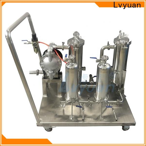 best stainless steel filter housing with core for sea water desalination