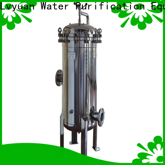 Lvyuan porous stainless steel filter housing manufacturers with core for food and beverage