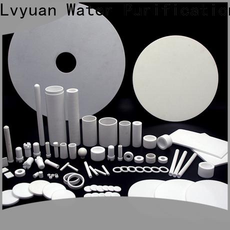 Lvyuan sintered filter manufacturer for sea water desalination