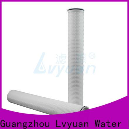 Lvyuan best high flow water filter cartridge manufacturer for sea water desalination