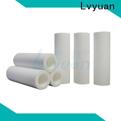 Lvyuan melt blown filter cartridge manufacturer for sea water desalination