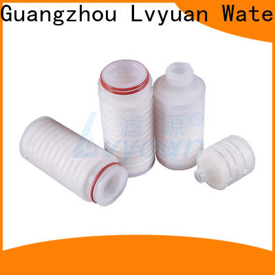 Lvyuan water pleated filter element with stainless steel for sea water desalination