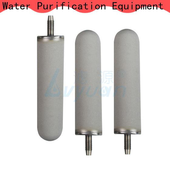 block sintered plastic filter rod for food and beverage